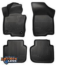 Husky Liner 98681 Black Front & 2nd Row Floor Liner for 12-17 Volkswagen Passat