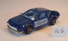 MAJORETTE 1/55 Nº 264 RENAULT ALPINE A 310 POLICE POLICE Nº 3 #765
