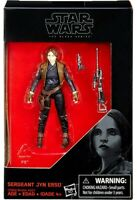 "Star Wars 2016 The Black Series Sergeant Jyn Erso Rogue One 3.75"" Action Figure"
