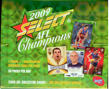 2009 Select AFL Champions Trading Cards Factory Box (36 packs)