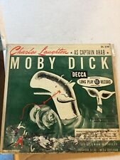 Moby Dick by Herman Melville with Charles Laughton as Ahab