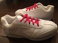 Zephz Tumble Cheerleading Shoe Womens 8 Gymnastics White Leather