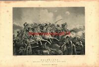Balaclava, Charge of the Light Brigade, Book Illustration (Print), c1890