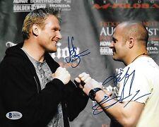 Fedor Emelianenko Josh Barnett Signed 8x10 Photo BAS COA Affliction Pride FC UFC