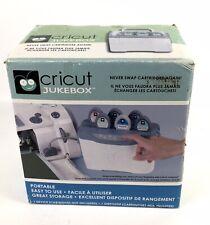 Cricut Jukebox Cartridge Station w/ Storage Compartment - Sealed New in Box!