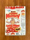 1987 NEW Fruity Yummy Mummy Vintage General Mills Cereal Box Original Series 4