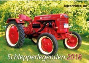 Restposten! Traktoren Kalender 2018 von AgrarVideo  (NEU & OVP)