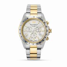 Orologio Philip Watch caribe R8273607001 uomo watch cronografo BICOLORE ORO