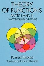 Theory of Functions, Parts I and II (Dover Books on Mathematics) (Pts. 1 & 2), K