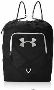 Under Armour UA Undeniable Sackpack, Black Backpack - NWT