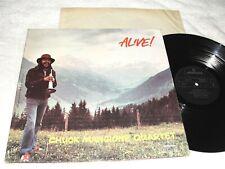 "Chuck Mangione ""Alive"" 1972 Jazz LP, VG+, Mercury, Vinyl, UK Pressing"