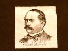 Segretario di Stato Cirillo Monzani di Reggio Emilia