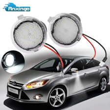 2x LED Side Mirror Puddle Lights for Ford F150 Raptor Edge Fusion Explorer White