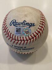 MLB Authenticated - Paul DeJong vs Tyler Mahle Game-Used Baseball
