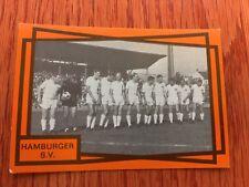 Monty Gum Seltene Hamburger Sportsverein HSV Team Card Von 1968