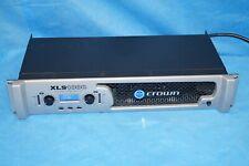 CROWN XLS 1000 High-Density Power Amplifier Amp