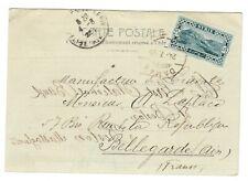 s32000) SYRIE FRENCH LEVANT 1925 PC Damas Bellegarde FR -Interesting Franking