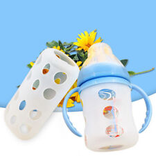 Baby Feeding Bottle Cover Sleeve Silicone Cover Protect Insulating MA