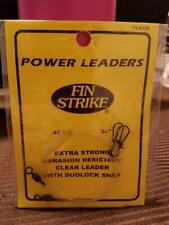 "Fin Strike Power Leaders 3 packs sold together 50lb 24"" & 50lb18"""