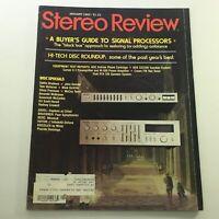 VTG Stereo Review Magazine January 1982 - Gatlin Brothers / John Denver Discs