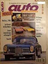 AUTO PASSION n°75: 12/1992: LOTUS EUROPE ET EUROPA TC - FACEL III - DE TOMASO