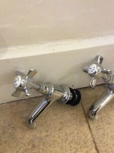 Howard Bird Traditional Chrome  Basin Taps  Imperial Collection RRP £115