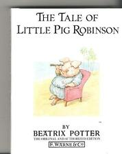 Beatrix Potter Book - The Tale of Little Pig Robinson - #19 1980s Book