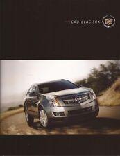 2012 12 Cadillac SRX  original sales brochure