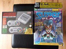 Super Nintendo SNES Mini Classic Plus Super Play Magazine & Box Protector Bundle
