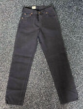 Levi's Men's 517 Relaxed Fit Jeans Waist 28 Inseam 32 517.50.59 Black Cord
