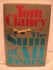 The Sum of All Fears by Tom Clancy (1991, HCDJ, Limited)