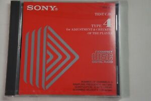 Sony Test CD YEDS-18 Type 4 For ADJUSTMENT & CHECKING OF THE PLAYER