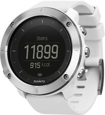 Suunto Traverse White Hiking Trekking Integrated GPS Watch Maps Plan Routes