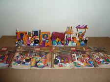 LEGO HARRY POTTER 4721 HOGWARTS CLASSROOM 4722 GRYFFINDOR 4723 DIAGON ALLEY SHOP