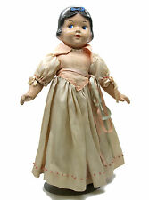 Vintage 1930's Disney Snow White Knickerbocker Composition Doll 15""