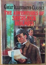 THE ADVENTURES OF SHERLOCK HOLMES by A. Conan Doyle (1992) Baronet illust. HC