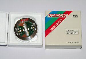 Vision JVC VHS VCR Video Recorder 4-Head UP Upper Drum Assembly AJI-801 800451