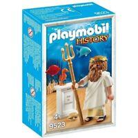 Playmobil History Poseidon griechischer Gott 9523 Neu & OVP Sonderfigur MISB PCC