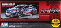 Tamiya 58645 1/10 RC Car TT02 Subaru Impreza WRX STi 24h Nurburgring 2016 w/ESC