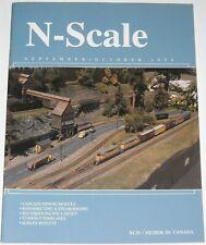 N-Scale Magazine Volume 6 Number 5 September October 1994 Structure Modeling