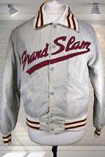 Original Vintage 1970s Men's Baseball Varsity Jacket GRAND SLAM Dagger Collar