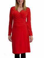 £25 New TU Wrap Velvet Midi Christmas Party Evening Dress Plus Size 16 18 20 22