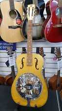 Duolian by Dobro Hula Blues Wooden Bodied Biscuit Resonator Guitar