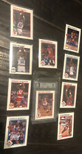 1991-92 NBA Hoops Prototype Complete Set Michael Jordan 004 9 Mint