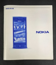 Nokia Mobile Phone Telephone Instruction Book X6-00 Guide Operation Manual X6