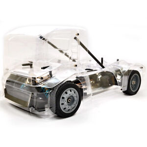 HoBao HB-GPX4E-CL Hyper EPX 1/10 Semi Truck On-Road ARR w/ Clear Body Shell