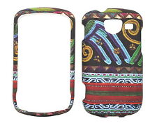Aztec Tribal Design Rubberized Case for Samsung Brightside U380