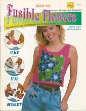 Fusible Flowers Booklet ~ 25 Projects