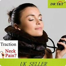 SOFT AIR PNEUMATIC NECK SUPPORT COLLAR TRACTION UNIT