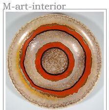 ART DECO Schale Ø 32cm Uranglasur CARSTENS UFFRECHT Bowl Centerpiece 20s-30s